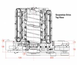 Procharger - LS Chevy Serpentine High Output Intercooled Kit with P-1SC-1 - Image 3
