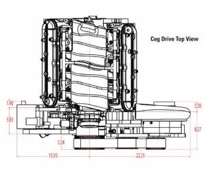 Procharger - LS Chevy Cog Kit with Intercooled F-1D, F-1, or F-1A - Image 3