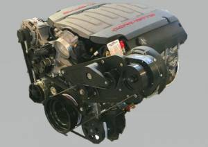 Procharger - LT1/LT4 Chevy Serpentine High Output Intercooled Kit with D-1SC - Image 2