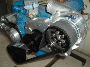 ProCharger Specialty kit by The Supercharger Store - 351 Cleveland Ford Intercooled Cog Race Kit with F-1X - Image 2