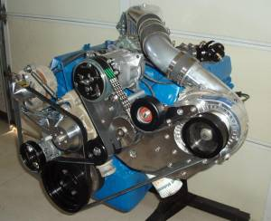 Procharger Speciality kit by The Supercharger Store - Big Block Ford Serpintine High Output Kit with D-1SC (8 rib) - Image 3